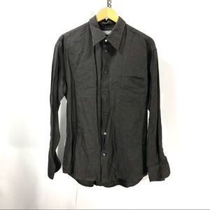 Bally's button down dress shirt size m